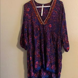 Ivy Jane Uncle Frank babydoll tunic size small